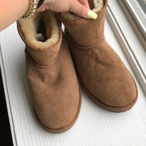 Short brown real ugg boots